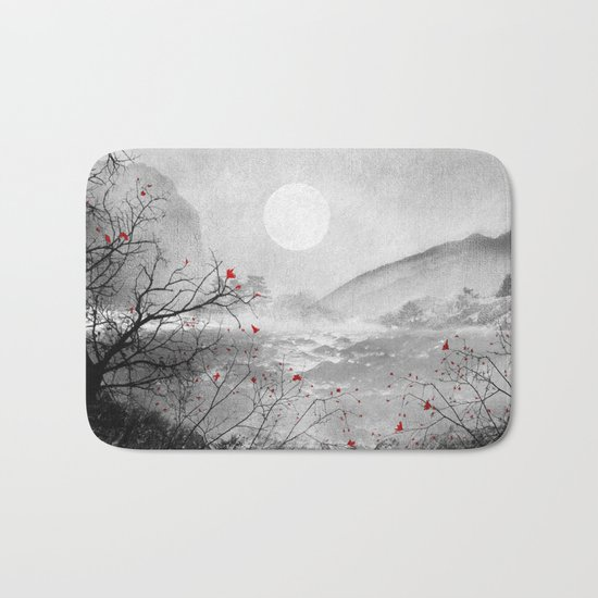 The red sounds and poems, Chapter II Bath Mat
