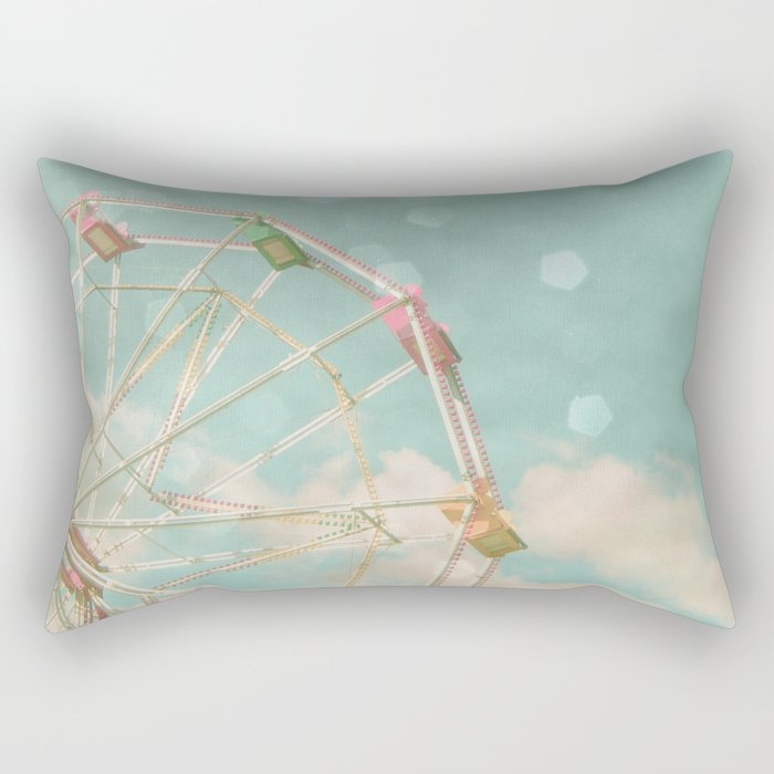 Candy Wheel Rectangular Pillow