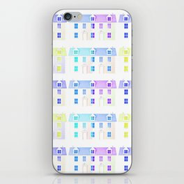 Painted Houses iPhone Skin