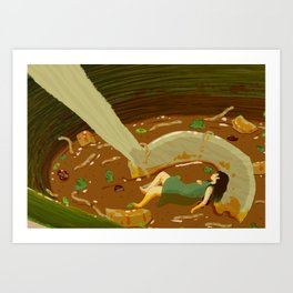 Hot and Sour Soup Art Print