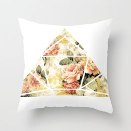 Rosey Throw Pillow