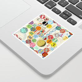 Math in color Sticker