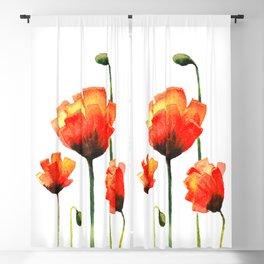Poppy Love Blackout Curtain