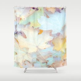 """Autumn Leaves Pastel"" by Murray Bolesta Shower Curtain"