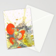 Orange Pathway Stationery Cards