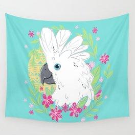 Umbrella Cockatoo Wall Tapestry