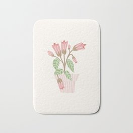 Flower In a Pot Bath Mat