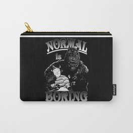 Pugsley & Gorgo: Normal Is Boring Carry-All Pouch