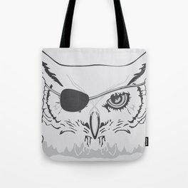 Owl Pirate Tote Bag