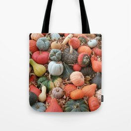 cornucopia (heirloom pumpkins and squashes) Tote Bag
