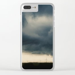 Stormy Skies Clear iPhone Case