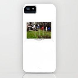Hero Street Grotto & Flags iPhone Case