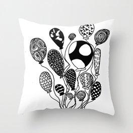 Balloon Design  Throw Pillow