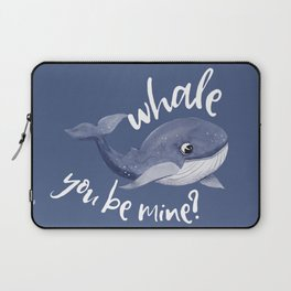 Whale you be mine Laptop Sleeve