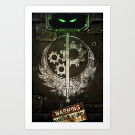 Brotherhood of Steel Art Print