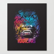 United Colour of Barong Canvas Print