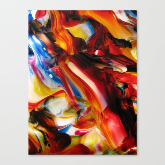 whirled piece Canvas Print