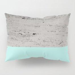 Bright Mint on Concrete #1 #decor #art #society6 Pillow Sham