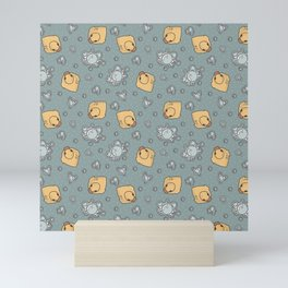 rubber duck Mini Art Print