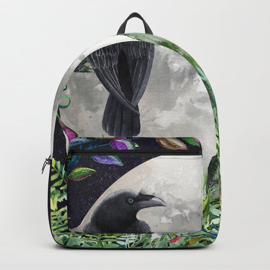 Raven Moon Magick Backpack