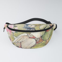 Jemima Puddle-Duck Floral Fanny Pack