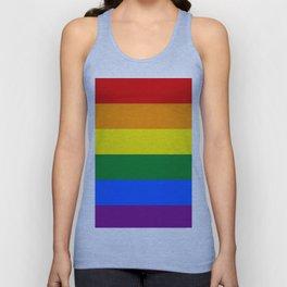 Pride rainbow flag Unisex Tank Top