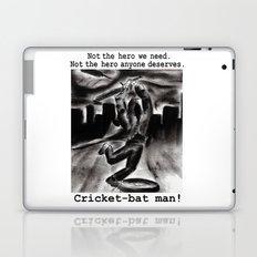 Cricket Bat Man Laptop & iPad Skin