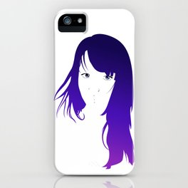 Purple Vector iPhone Case