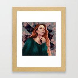 Irish Crystals Framed Art Print
