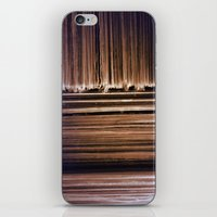 records iPhone & iPod Skins featuring Records by Perpetual Change