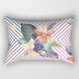 Purple in the Summer Rectangular Pillow