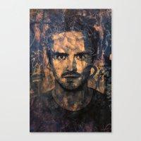 jesse pinkman Canvas Prints featuring Jesse Pinkman by Sirenphotos