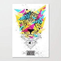 JAGUAR HOUSE Canvas Print