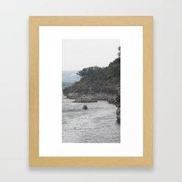 Reluctant Morning Framed Art Print