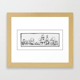 Ensemble Framed Art Print