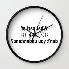 PDP1 Wall Clock