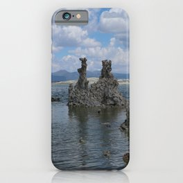 Tuff Area At Mono Lake iPhone Case