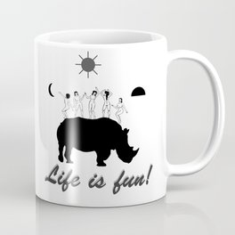 Dances on Rhino Coffee Mug