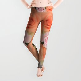 Summer Roses Leggings