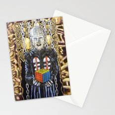 Rubik raises Hell (revenge) Stationery Cards