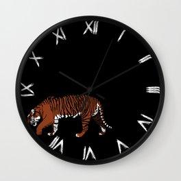 Tiger Stripes Wall Clock