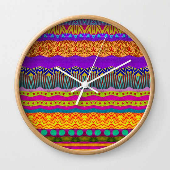 Earth Layers Wall Clock