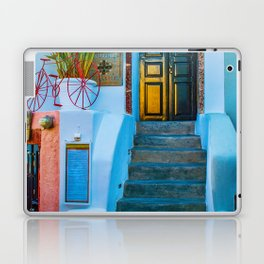 Oia's house Laptop & iPad Skin