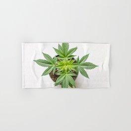 Marijuana Landscape Hand & Bath Towel