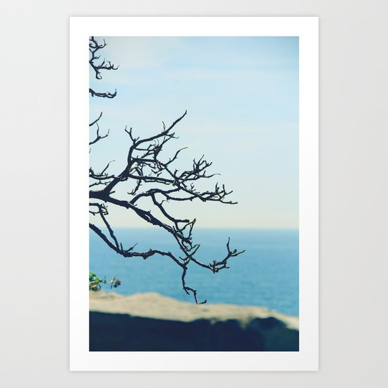 at the seaside* Art Print