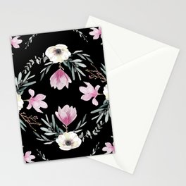 Magnolias, Eucalyptus & Anemones Stationery Cards