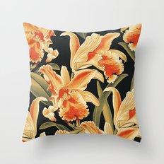 Vintage Garden 29A Throw Pillow