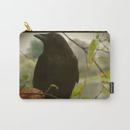 fall crow Carry-All Pouch