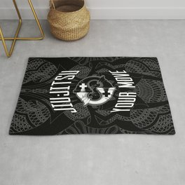 Brazilian Jiu-jitsu Chess Kings Rug