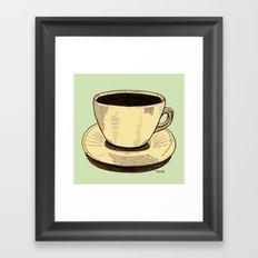good ol' cup of coffee, I. Framed Art Print